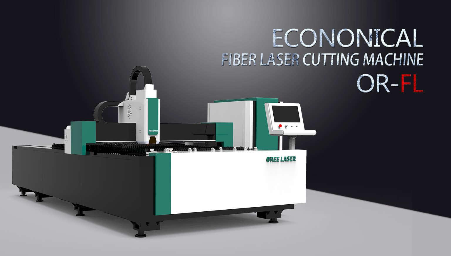 Máquina de corte láser de fibra económica OR-FL