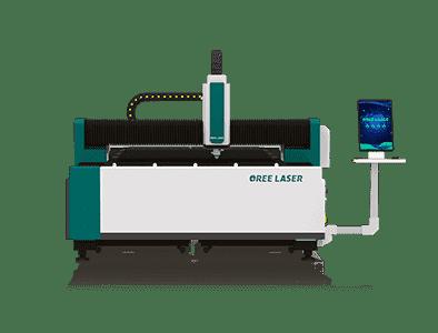 Máquina cortadora láser de fibra de hoja media OR-FM
